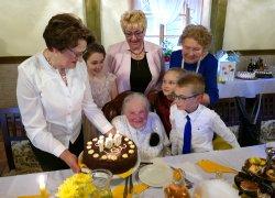 Setne urodziny Anny Juszczyk